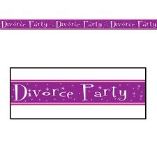 Absperrband Divorce Party