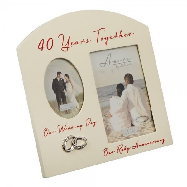 Bilderrahmen 40 Years
