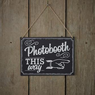 Wegweiser Photo Booth