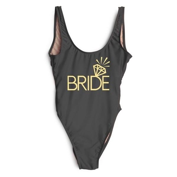 Badeanzug Bride Schwarz