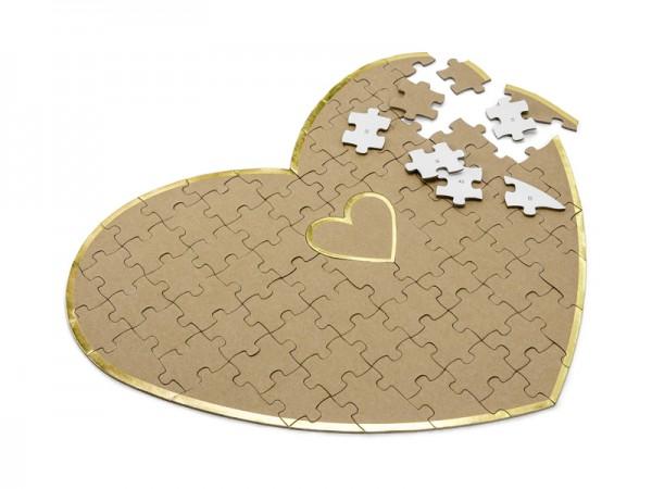 Gästebuch Wedding Puzzle