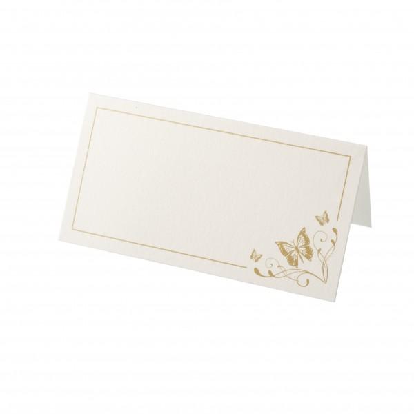 Tischkarte Papillon