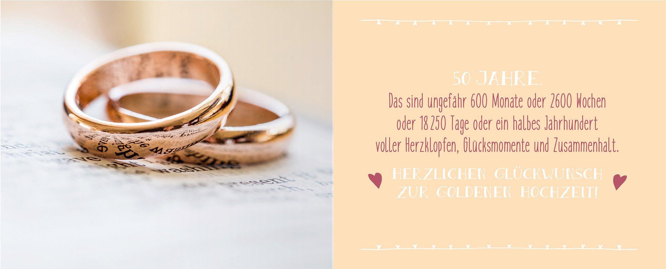 Gluckwunschkarte 50 Jahre Verheiratet Zur Goldhochzeit Kaufen