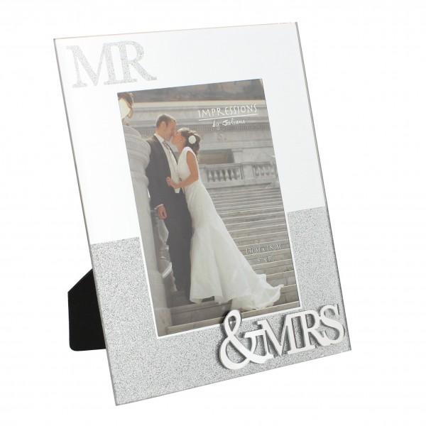 Bilderrahmen Mr. & Mrs. Glittery