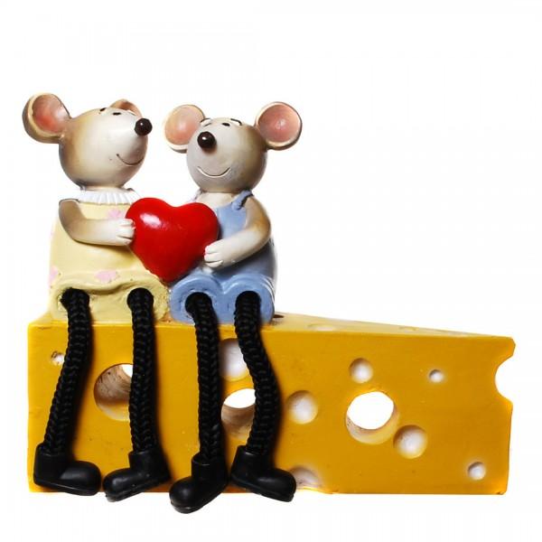 Geldgeschenk Mäusepärchen
