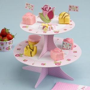 Cupcake Ständer Vintage Rose
