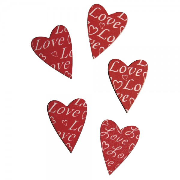 Holzstreuteile Love