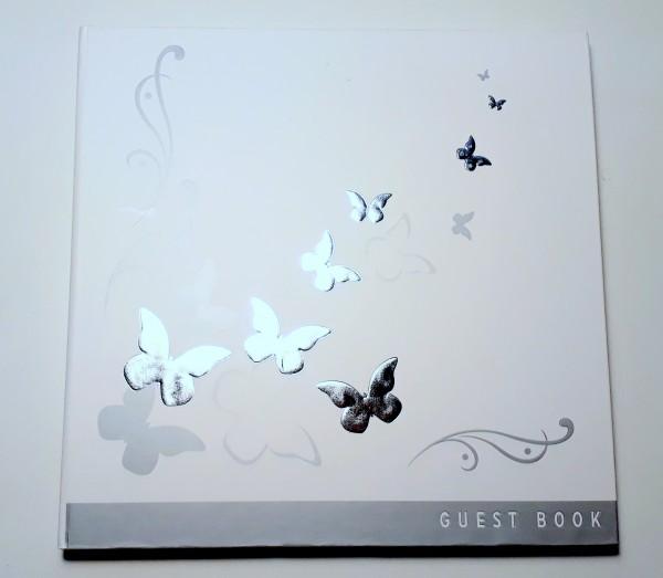 Gästebuch Butterflies
