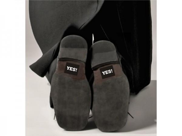 YES! Schuh-Sticker