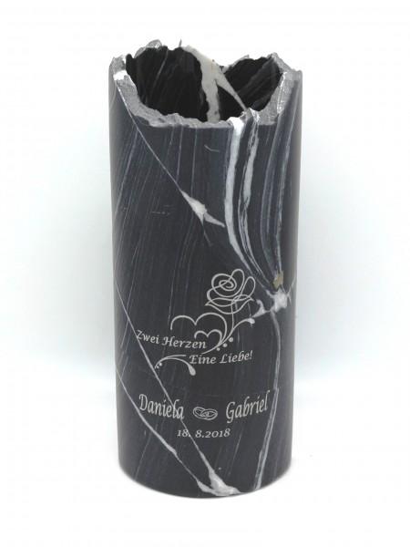Naturstein Weinkühler mit Gravur