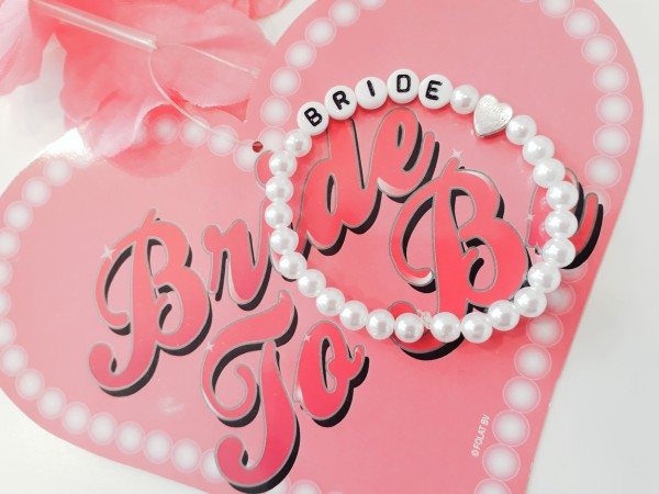 Perlenarmband Bride