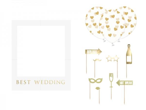 Photo Booth-Set Best Wedding