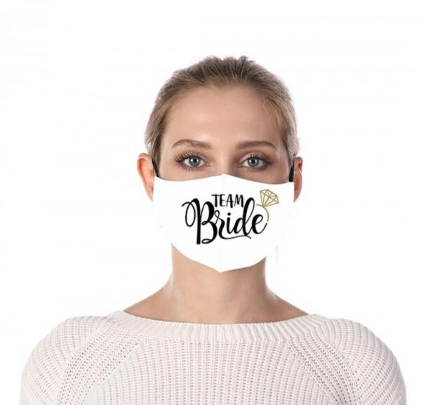 Mund-Nasen-Schutz Gesichtsmaske Team Bride