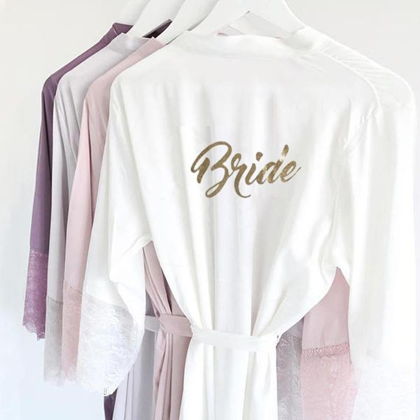 Morgenmantel Kimono Bride