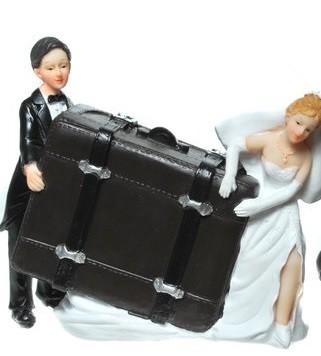 Spardose Hochzeitskoffer