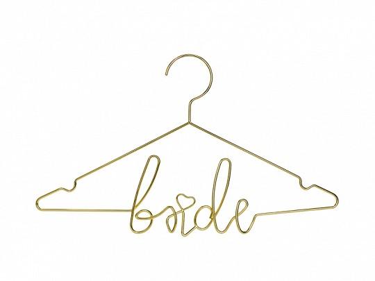 Kleiderbügel Bride Gold