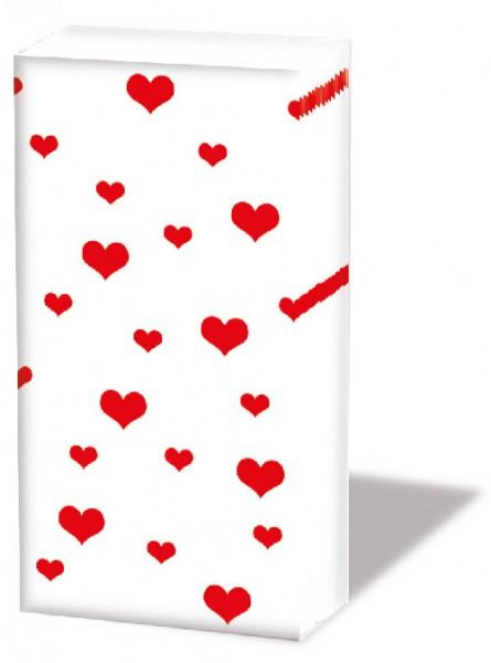 Taschentücher Love Hearts