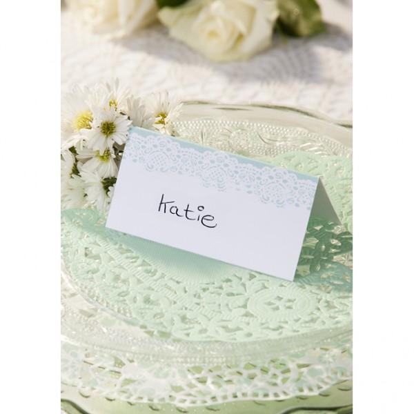 Tischkarte Mint