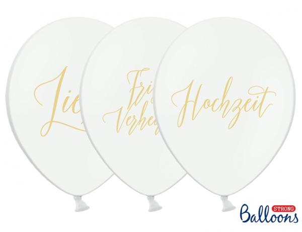 Luftballon-Set Frisch Verheiratet
