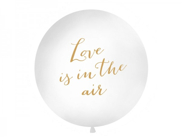 Jumbo-Ballon Love is in the air