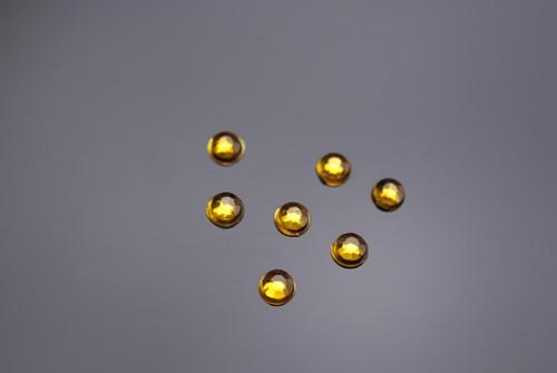 Straßsteinchen Gold