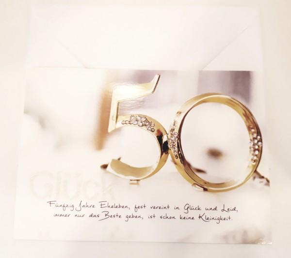 Billet 50 Jahre Glück