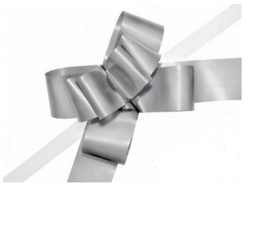 Papiermasche zum Ziehen - 5 cm Silber