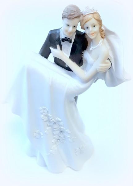 Tortenfigur Braut auf Händen Groß