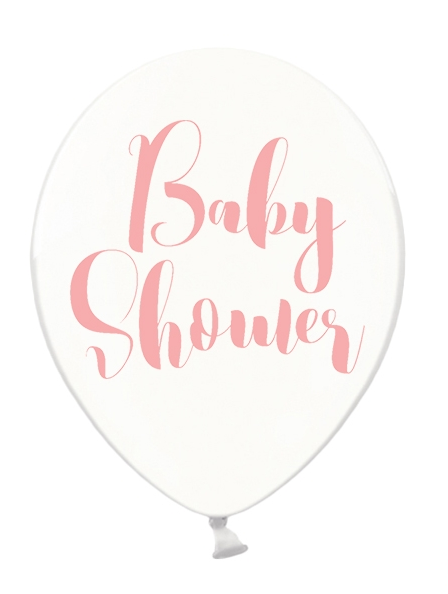 Luftballon Babyshower Rosa