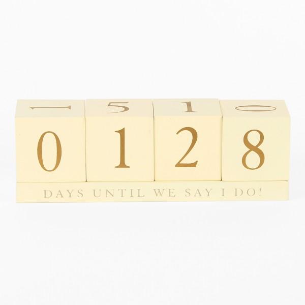 Würfelkalender Countdown
