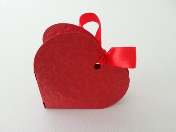 Herzbox Rot