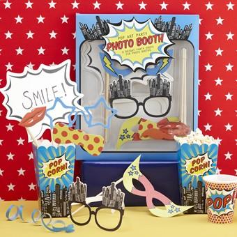 Photo Booth-Set Pop Art