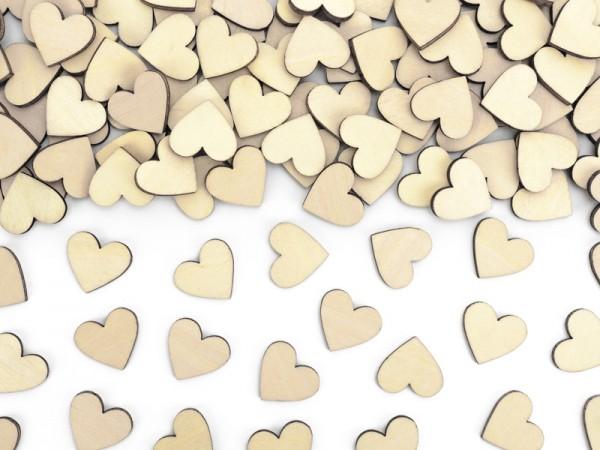 Holzstreuteile Herzen