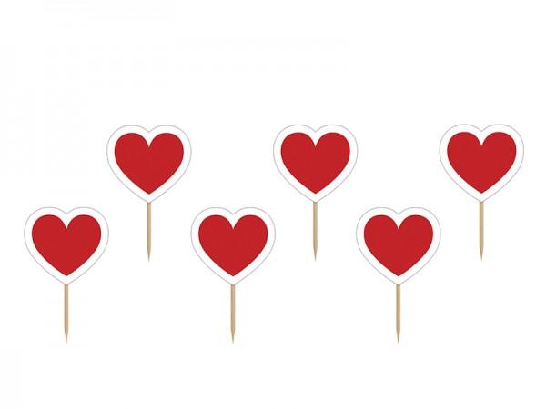 Cupcake Sticks Liebe