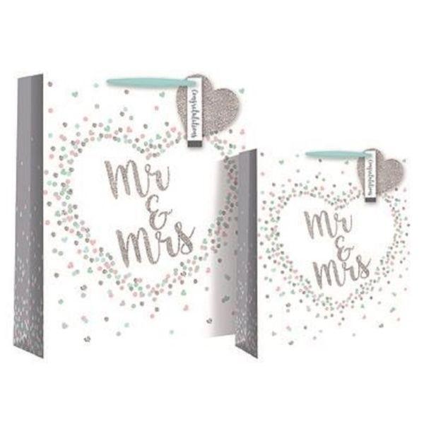 Geschenksackerl Mr. & Mrs. Herz