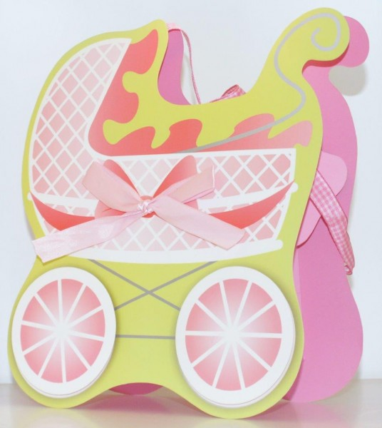 Geschenksackerl Buggy Pink