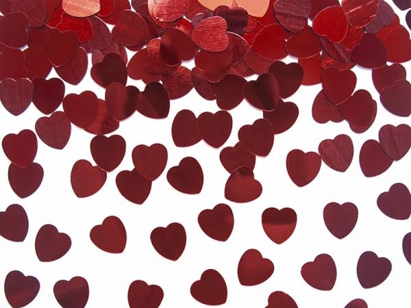 Streuteile Rote Herzen