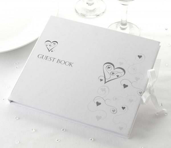 Gästebuch Herzchen