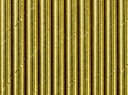 Strohhalme Gold