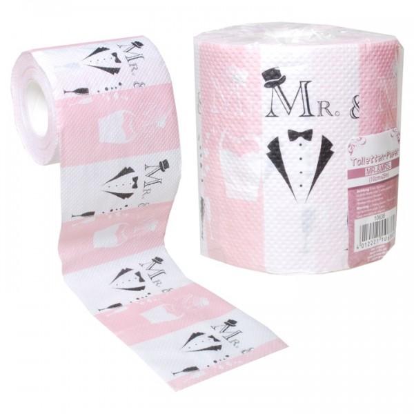 WC Papier Mr. & Mrs.